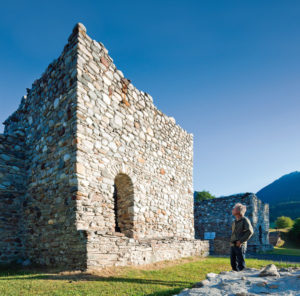 Die Türme von Aguntum konnten die Stadt gegen den Ansturm der Slawen im Jahr 610 nicht schützen. Mit der Stadt Aguntum ging auch der seit dem Jahr 343 nachgewiesene Bischofsitz Aguntum (Lienz, Osttirol) unter. Eine Wiederherstellung des Bistums im Zuge der Kirchenreformen Karls des Großen ist nicht erfolgt.