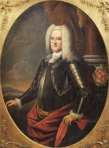 """Sebastian Johann Georg Graf von Künigl zu Ehrenburg (* 20. Januar 1663; † 29. November 1739) war von 1695 bis 1739 Landeshauptmann, 1732 bis 1739 auch kaiserlicher Gouverneur (Gubernator) von Tirol. Er war der Sohn des Tiroler Landeshauptmannes Johann Georg von Künigl (1628–1697) und dessen Frau Maria Anna geb. Vizthum von Eckstädt. Die Familie derer von Künigl zählte zum Tiroler Uradel; zur Zeit seiner Geburt waren es Freiherrn, ab 1713 jedoch Grafen. Kurfürst Maximilian II. Emanuel von Bayern war im Verlauf des Spanischen Erbfolgekrieges, im Juni 1703, mit Unterstützung des französischen Königs Ludwig XIV., in Tirol eingefallen. Es kam zu Kampfhandlungen zwischen den bayerischen Truppen und der Tiroler Landwehr, die unter dem verharmlosenden Namen Bayrischer Rummel in die Geschichte eingingen. Landeshauptmann Graf von Künigl hat im Auftrag von Kaiser Leopold I. 1703 die Führung des Tiroler Widerstandes übernommen. Sebastian Johann Georg von Künigl war vermählt mit Gabriele Gräfin von Mauleon-de Tassigny. Sie residierten in Innsbruck, im """"Neuen Hof"""". Kaspar Ignaz von Künigl (1671–1747), der jüngere Bruder des Landeshauptmannes, regierte als Fürstbischof von Brixen."""