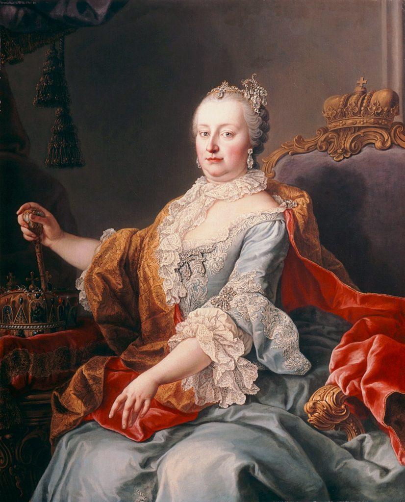 Maria Theresia von Österreich (* 13. Mai 1717 in Wien; † 29. November 1780 ebenda) war eine Fürstin aus dem Hause Habsburg. Die regierende Erzherzogin von Österreich, Königin von Ungarn mit Kroatien und Königin von Böhmen (1740–1780) zählte zu den prägenden Herrscherpersönlichkeiten der Habsburgermonarchie. Im Jahr 1745 wurde ihr Gatte Franz I. Stephan zum römisch-deutschen Kaiser gewählt. Die Regierungsgeschäfte der Habsburgermonarchie führte Maria Theresia trotzdem allein. Wie jede Gattin eines Kaisers wurde sie, obwohl nicht selbst gekrönt, als Kaiserin tituliert.